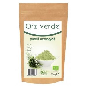 Pulbere de orz verde raw bio (250g), Obio