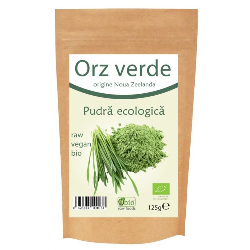 Orz verde pulbere bio Noua Zeelanda (125 grame), Obio