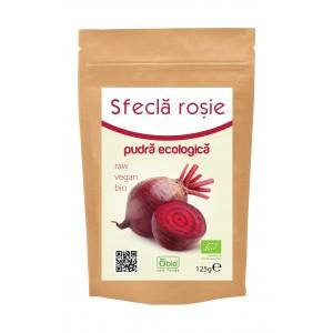 Sfecla rosie pudra bio (125 grame), Obio