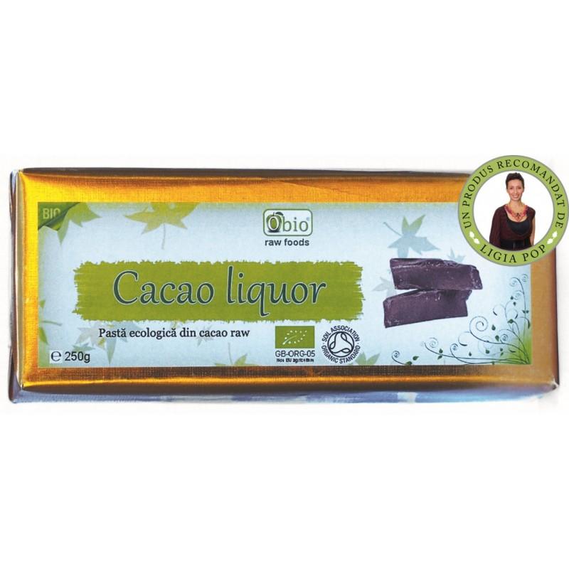 Cacao liquor raw bio (250g), Obio