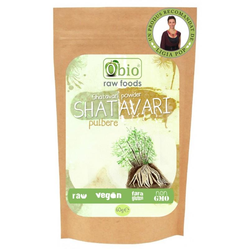Shatavari pulbere (60g), Obio