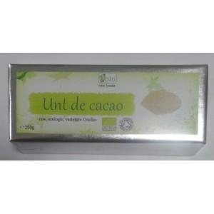 Unt de cacao raw criollo bio (250g), Obio