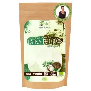 Faina de cocos bio (250g), Obio
