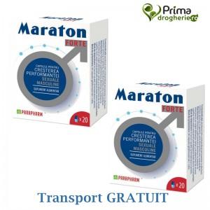 Maraton forte Economy pack ( 2 cutii x 20 capsule), Parapharm
