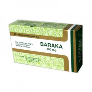 Baraka 100mg (24 capsule), Pharco