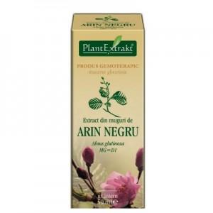 Extract din muguri de ARIN NEGRU - Alnus glutinosa MG=D1 (50 ml)