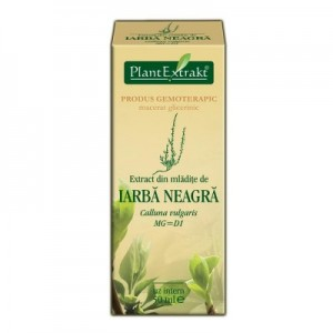 Extract din mladite de IARBA NEAGRA - Calluna vulgaris MG=D1 (50 ml)