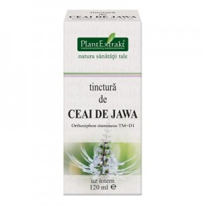 Tinctura de CEAI DE JAWA - Orthosiphon stamineus TM=D1 (120 ml)
