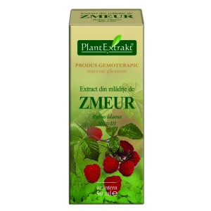 Extract din mladite de ZMEUR - Rubus idaeus (50 ml)