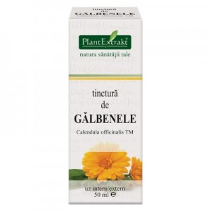 Tinctura de GALBENELE - Calendula officinalis TM (50 ml)