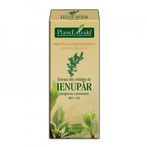 Extract din mladite de IENUPAR Juniperus communis MG=D1 (50 ml)