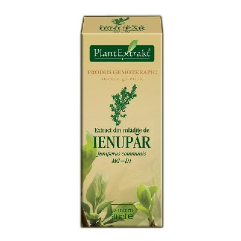 Extract din mladite de IENUPAR Juniperus communis MG=D1 (50 ml)