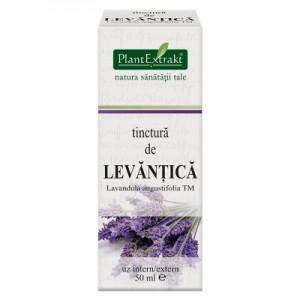 Tinctura de LEVANŢICA - Lavandula angustifolia TM (50 ml)