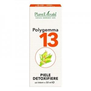 Polygemma 13 -  Piele, detoxifiere (50 ml)