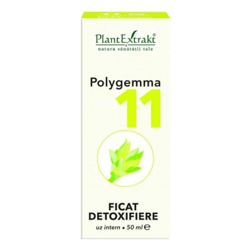 Polygemma 11 -  Ficat, detoxifiere (50 ml)