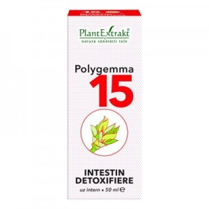 Polygemma 15 -  Intestin, detoxifiere (50 ml)