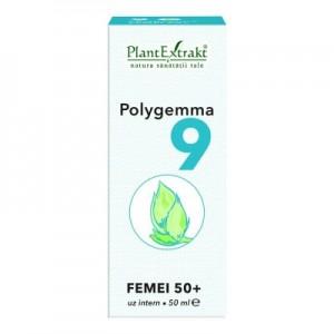 Polygemma 9 -  Femei 50+ (50 ml)