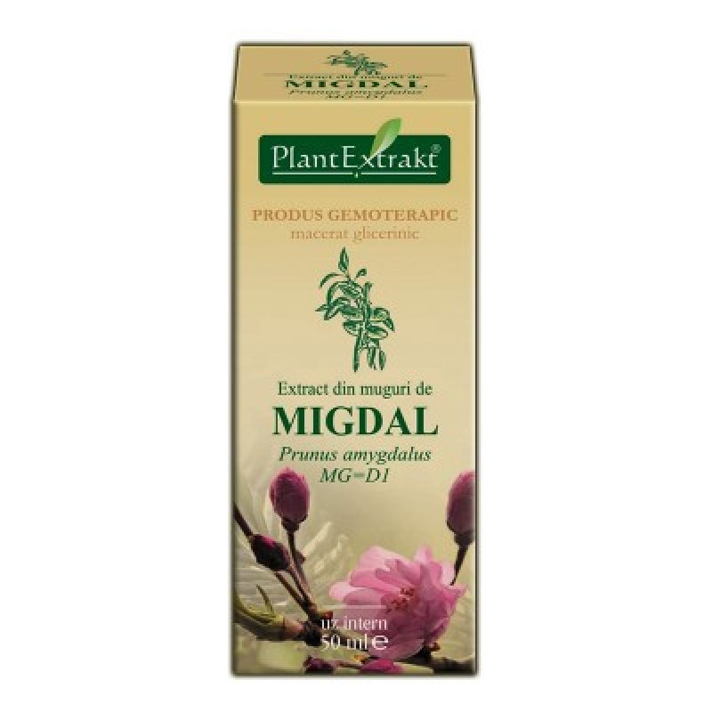 Extract din muguri de MIGDAL Prunus amygdalus MG=D1 (50 ml)
