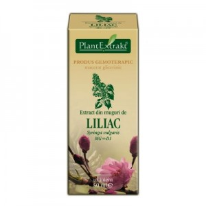 Extract din muguri de LILIAC - Syringa vulgaris MG=D1 (50 ml)