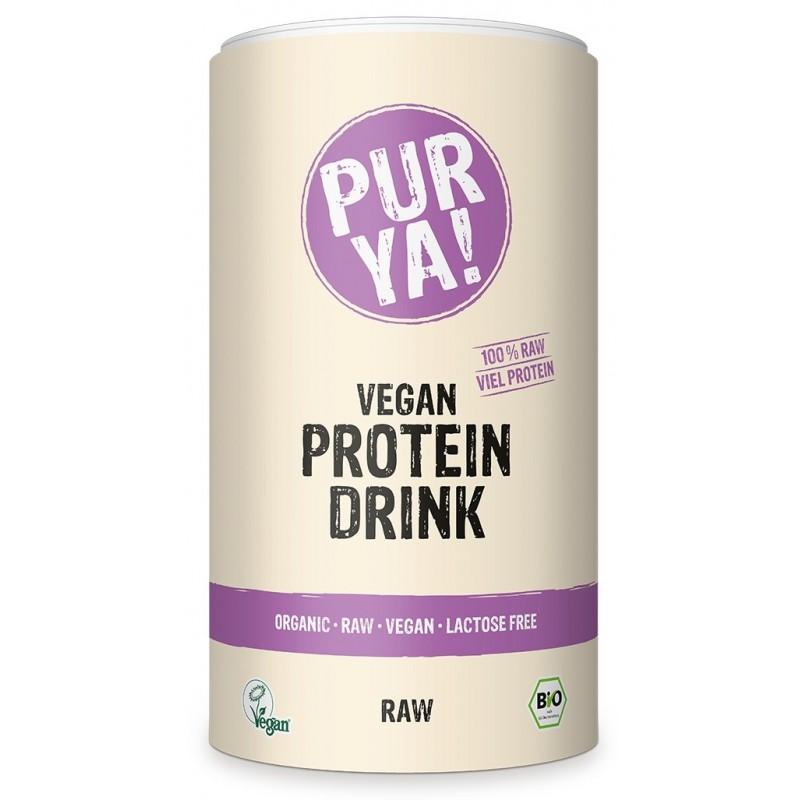 Bautura proteica vegana raw energy (550 grame), Pur Ya!