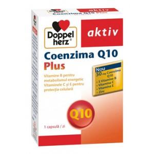 Coenzima Q10 Plus, Doppelherz aktiv  (30 capsule)