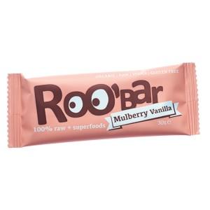 Baton raw bio cu dude si vanilie (30 grame), Roobar