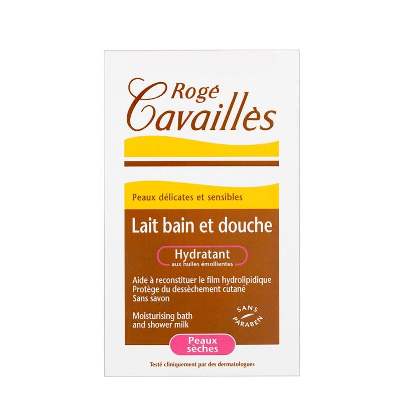 Lapte hidratant de baie si dus pentru pielea uscata (300ml), Roge Cavailles