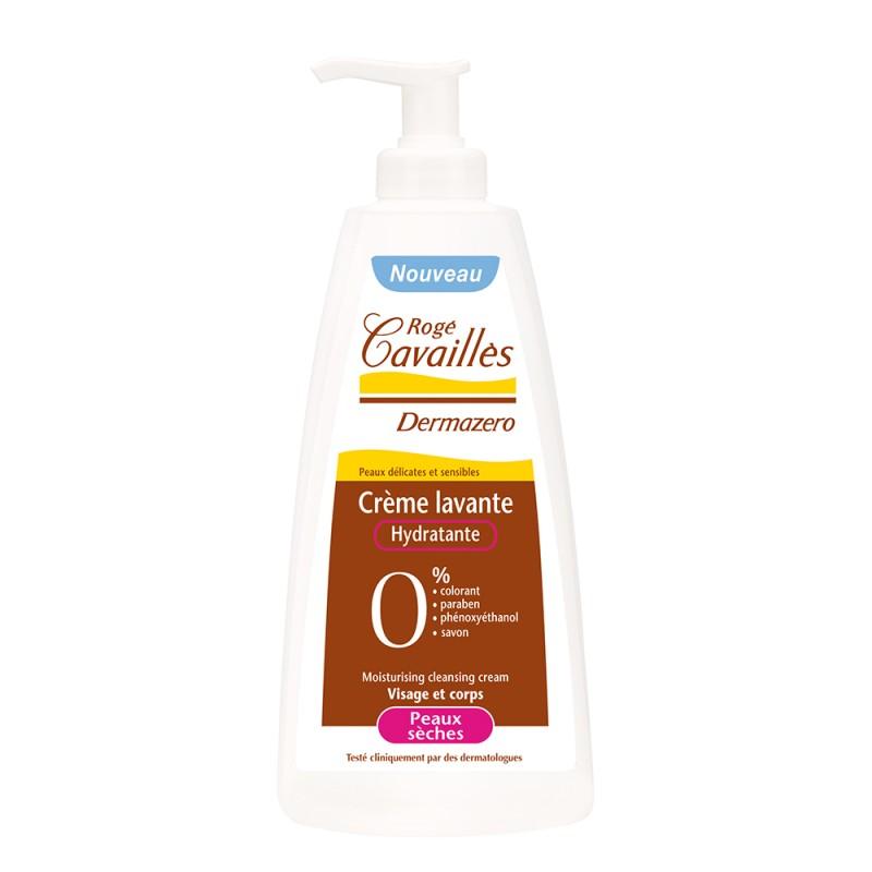 Dermazero Crema curatatoare hidratanta pentru piele uscata (300ml), Roge Cavailles