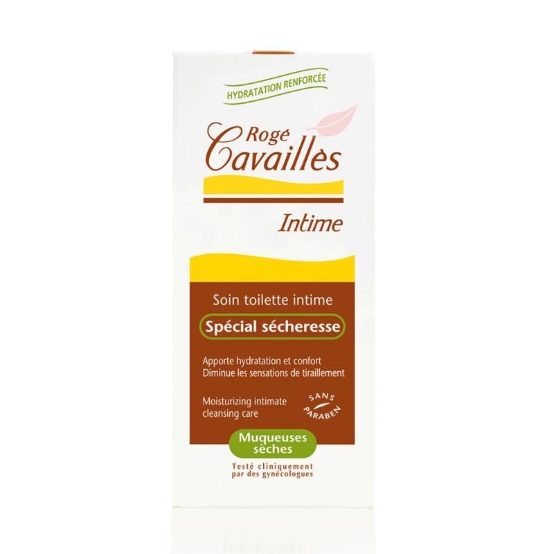 Gel de igiena intima hidratant pentru mucoase uscate (200ml),  Roge Cavailles