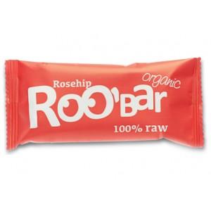 Baton raw bio cu macese (50 grame), Roobar