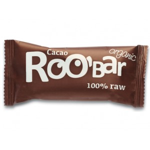 Baton raw bio cu cacao (50g), Roobar