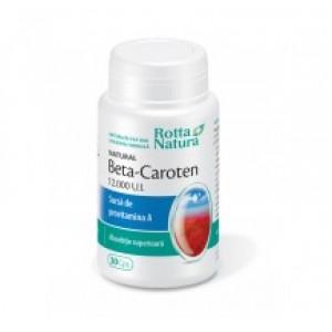 Beta-Caroten Natural (30 capsule), Rotta Natura