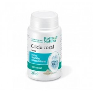 Calciu coral ionic (30 capsule), Rotta Natura