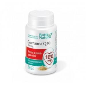 Coenzima Q10 120mg (30 capsule), Rotta Natura