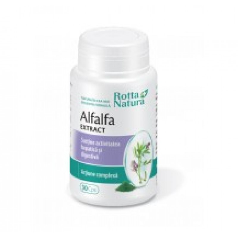 Extract Alfalfa (30 capsule), Rotta Natura