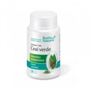 Extract Ceai verde (30 capsule), Rotta Natura