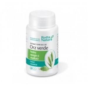 Extract suc de orz verde (30 capsule), Rotta Natura