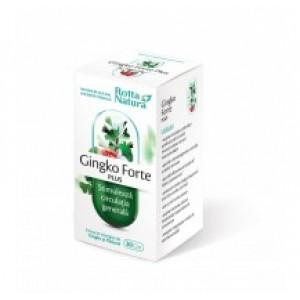 Ginkgo forte plus (30 capsule), Rotta Natura