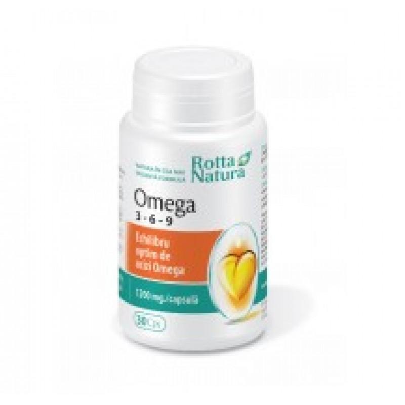 Omega 3-6-9 (30 capsule), Rotta Natura