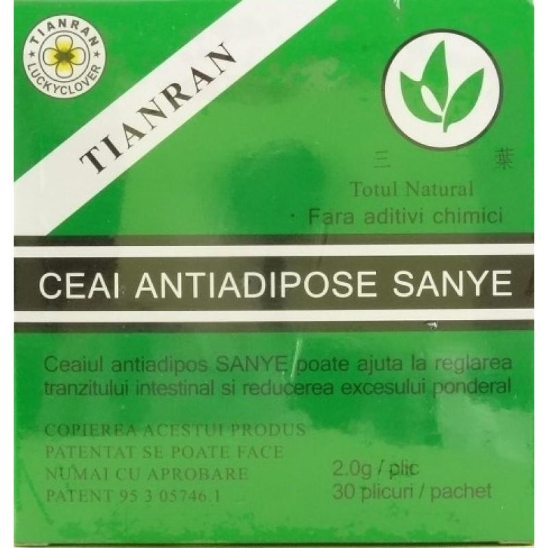 Ceai Antiadipos (30  plicuri), Sanye