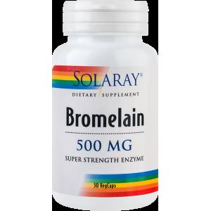 Bromelain 500 mg (30 capsule), Solaray