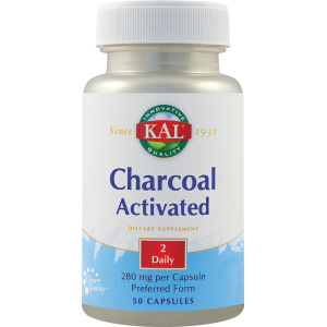 Charcoal Activated 280mg (50 capsule), Kal