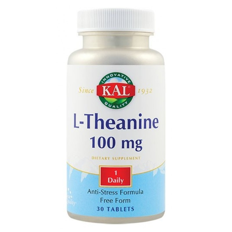 L-Theanine (30 capsule), Kal