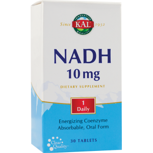 NADH 10mg ( 30 tablete filmate), Kal