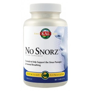 No Snorz (60 capsule), Kal