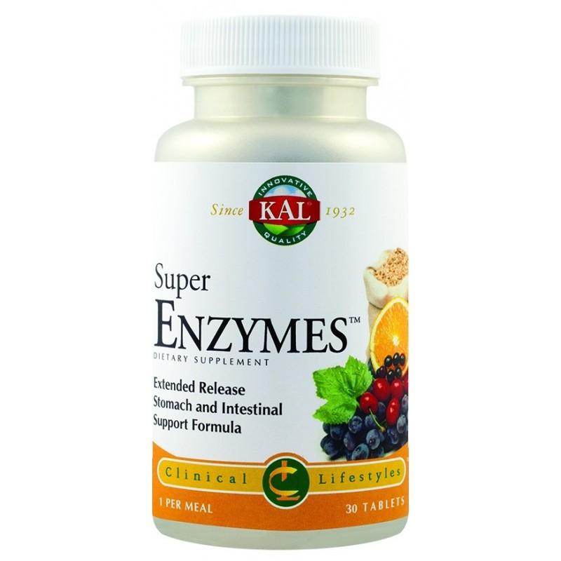 Super Enzymes (30 tablete), Kal
