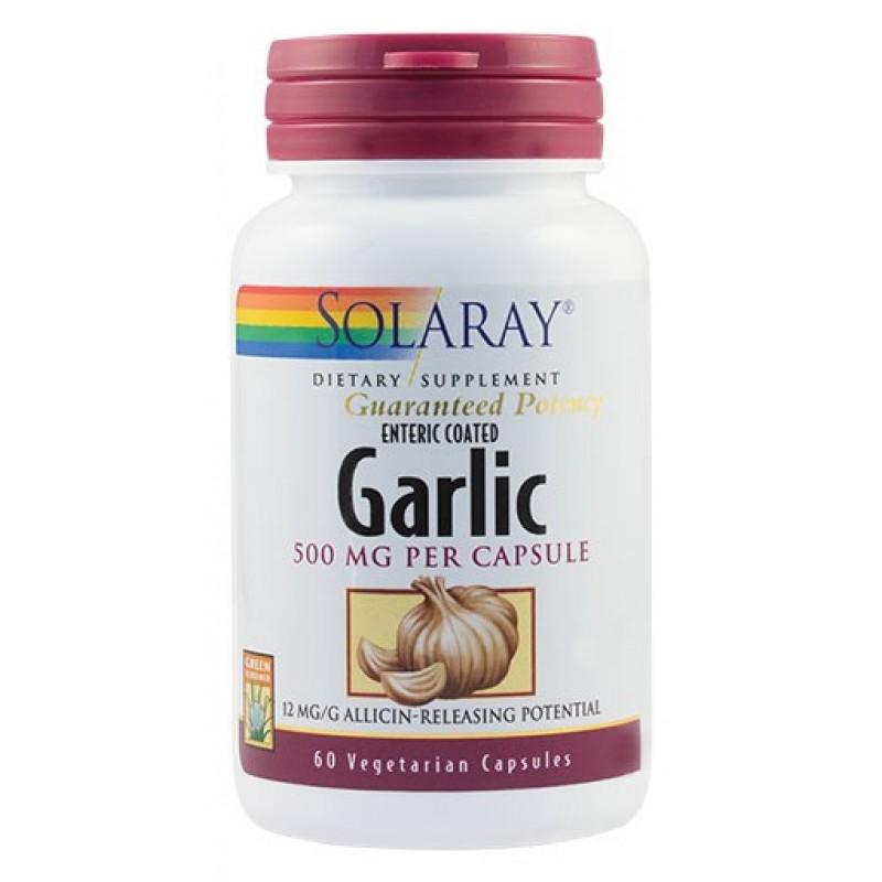 Garlic (Usturoi) 500 mg (60 capsule), Solaray