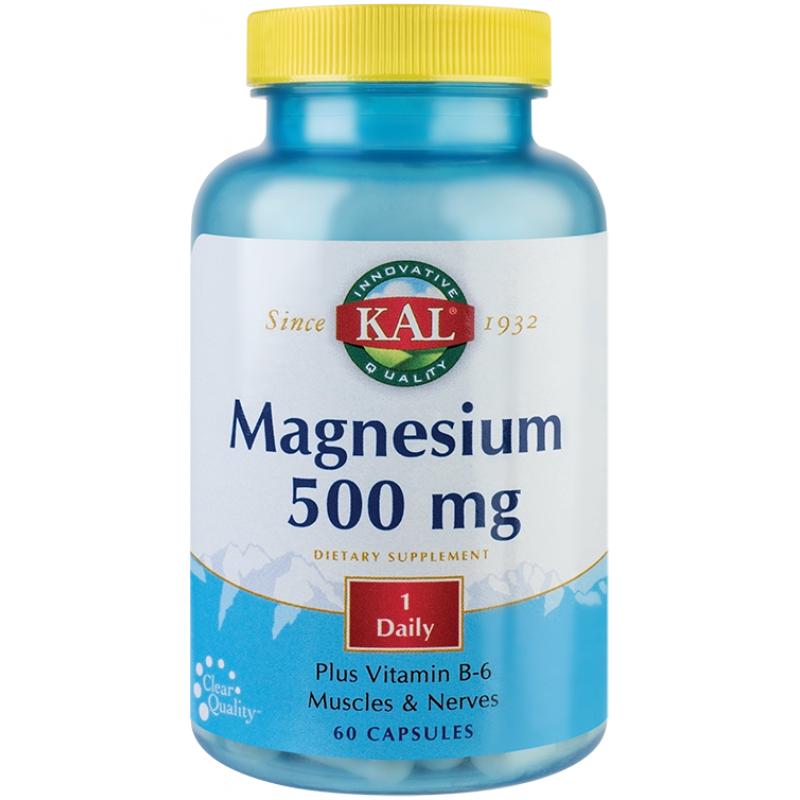 Magnesium 500mg (60 capsule), Kal