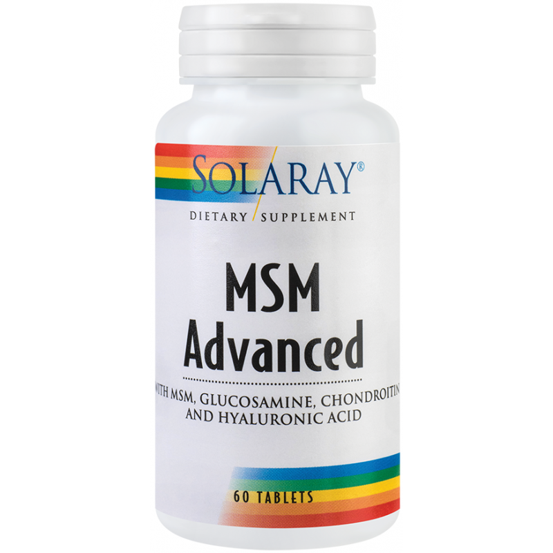 MSM Advanced (60 capsule), Solaray