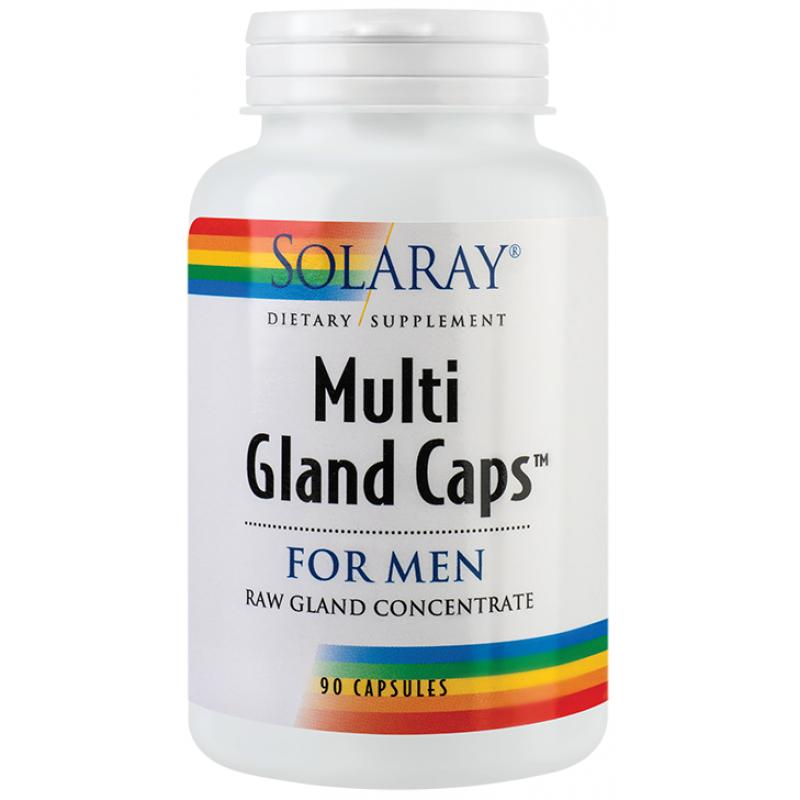 Multi Gland Caps for Man (90 capsule), Solaray